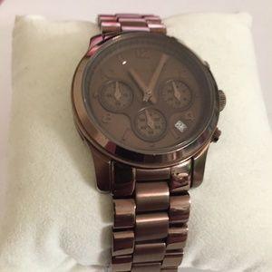 Michael Kors Men's/ Women's Chocolate Color Watch